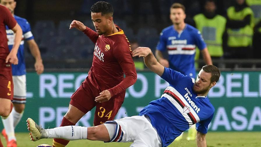 Nessun cambio alla ripresa LIVE Sampdoria-Roma 0-0