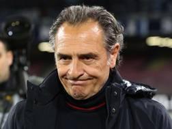 Cesare Prandelli, allenatore del Genoa, 61 anni. Ansa