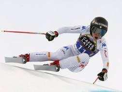 Sofia Goggia, 26 anni, ha vinto l'oro olimpico 2018 in discesa. Epa