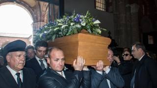 Il funerale di Cesare Cadeo