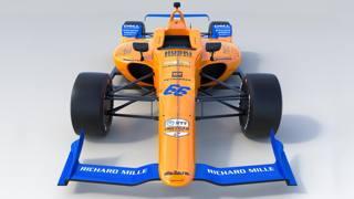 Ecco la McLaren di Alonso per la 500 Miglia di Indianapolis