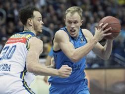 Luke Sikma, 29 anni, in semifinale contro Andorra.Ap