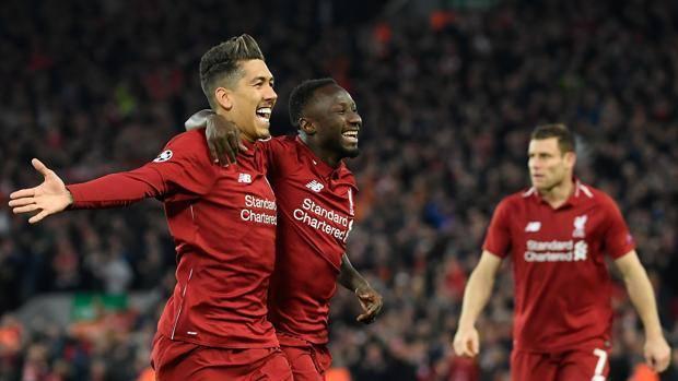 È festa ad Anfield per il Liverpool. Afp