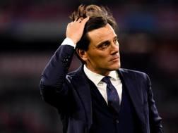 Vincenzo Montella, 44 anni, allenatore della Fiorentina. ANsa