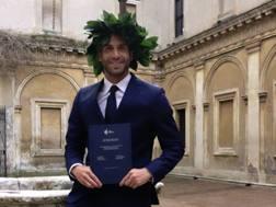 Lorenzo De Silvestri, 30 anni, poco dopo essersi laureato