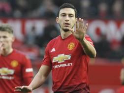 Matteo Darmian, 29 anni, difensore del Manchester United AP