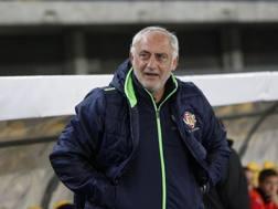 Andrea Mandorlini sulla panchina della Cremonese, sua ultima squadra. Lapresse