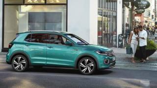 Il Volkswagen T-Cross al Design Week milanese