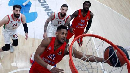 Cory Higgins, 29 anni, Cska Mosca. Getty
