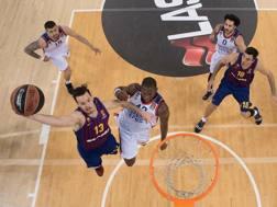 Thomas Heurtel, 30 anni, play del Barça. Getty