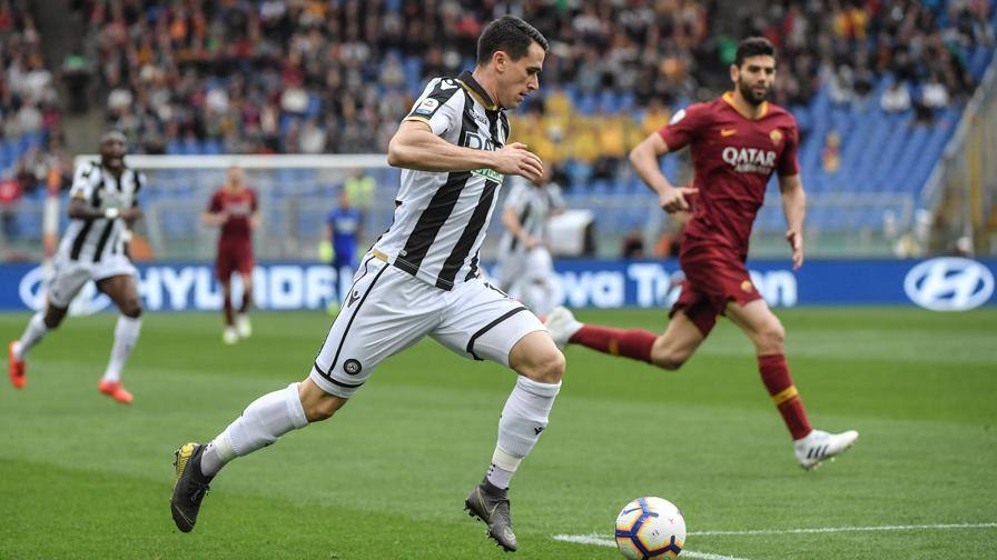El Shaarawy-Zaniolo, non va LIVE Roma-Udinese 0-0