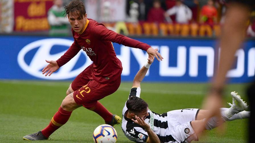 Un diluvio, niente reti Al 45' Roma-Udinese 0-0