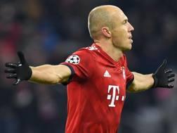 Arjen Robben, 35 anni. Afp