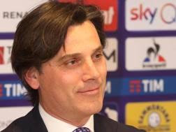 Vincenzo Montella, allenatore della Fiorentina. Ansa