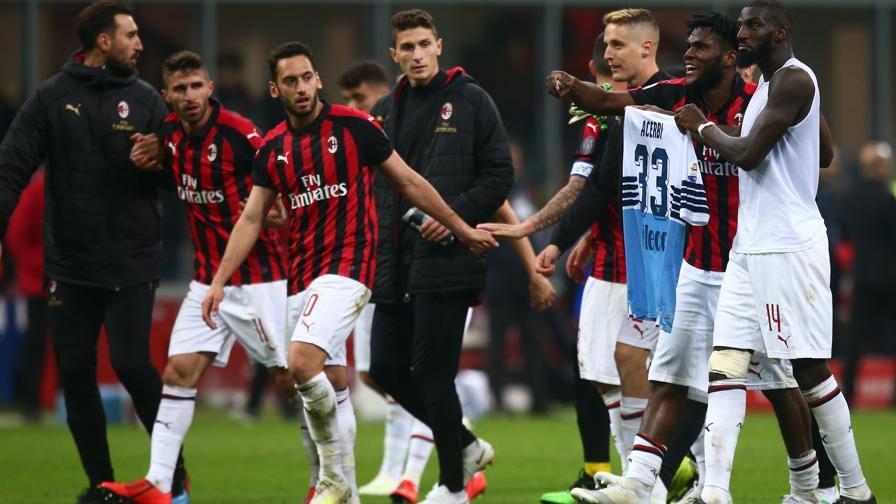 """Il Milan difende Kessie-Baka """"Niente scherno ad Acerbi"""""""