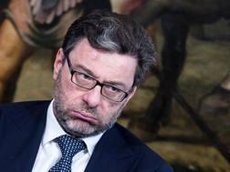 Il sottosegretario allo Sport Giancarlo Giorgetti. Ansa