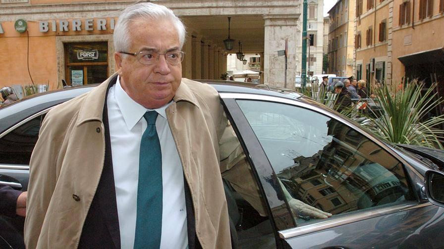 Addio a Giuseppe Ciarrapico La Roma fu sua dal '91 al '93