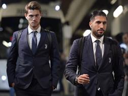 Daniele Rugani e Emre Can, recuperati. Getty Images