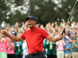 Tiger Woods, 43 anni, non vinceva ad Augusta dal 2005. Afp
