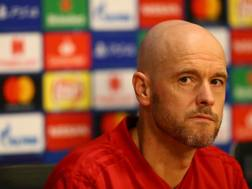 Il tecnico dell'Ajax Erik ten Hag. Getty