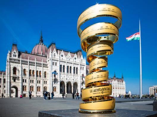 Il Trofeo del Giro a Budapest