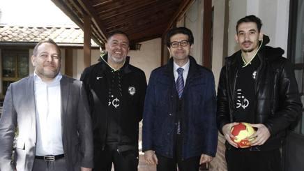 Marco Mastrandrea, Alessandro Fusina, Sergio La Montagna e Yacine Djedid