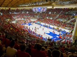 Il pubblico dell'Allianz Dome di Trieste. Ipp