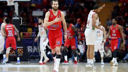 Sergio Rodriguez, 32 anni, play del Cska Mosca GETTY