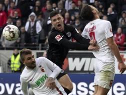Luka Jovic, 21 anni, serbo, attaccante dell'Eintracht Francoforte: in questa stagione 25 gol in 40 partite Getty