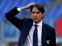 Simone Inzaghi, allenatore della Lazio. Getty