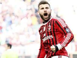 Antonio Nocerino, 34 anni, ex centrocampista di Milan e Parma. LaPresse