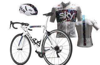 Bicicletta, casco, magliette: tutto su ebay per beneficenza