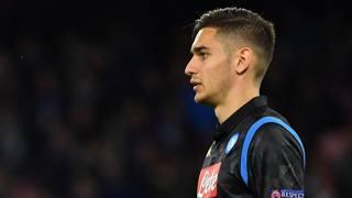 Alex Meret, portiere del Napoli, 21 anni. Afp