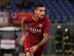 Lorenzo Pellegrini, 22 anni, centrocampista della Roma. Lapresse