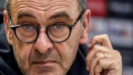Maurizio Sarri, allenatore del Chelsea. Epa