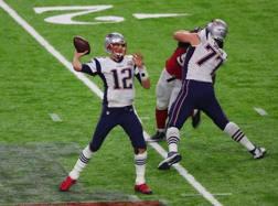 Tom Brady, fuoriclasse dei campioni in carica di New England LAPRESSE
