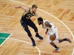 Kyrie Irving, 27 anni, play dei Boston Celtics AFP