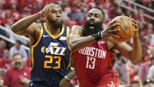 James Harden, 29 anni, stella di Houston AP