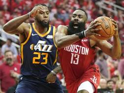James Harden, 29 anni, stella di Houston AP
