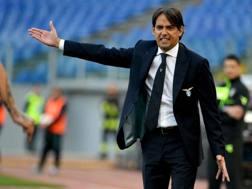 Simone Inzaghi, 43 anni, guida la Lazio dal 3 aprile 2016. Getty
