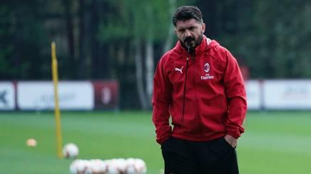 Gennaro Gattuso, allenatore del Milan, 41 anni. LaPresse