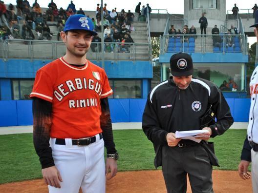 Mario Chiarini, riminese e manager del San Marino, e Fabio Betto, coach del Bologna. Foto Lauro Bassani