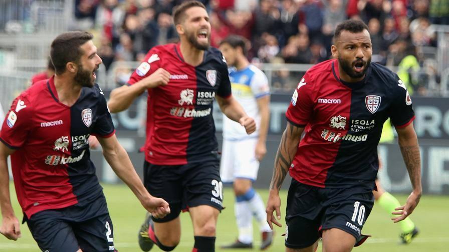 Serie A, Cagliari-Frosinone 1-0, decide il rigore di Joao Pedro
