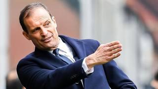 Max Allegri, allenatore della Juve. Ansa