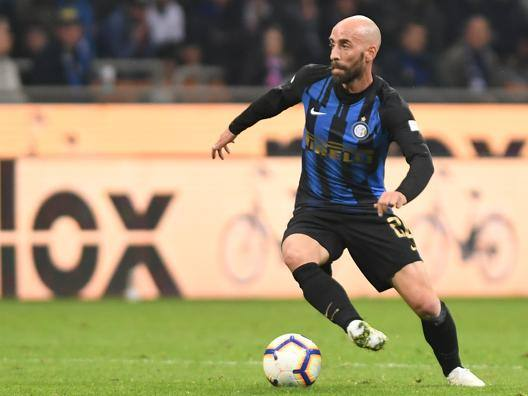Borja Valero, seconda stagione all'Inter. Lapresse