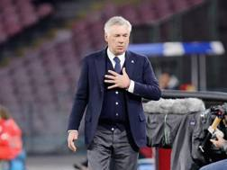 Ancelotti. Getty