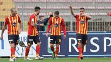 Il Lecce è secondo in classifica a 3 punti dal Brescia. LaPresse