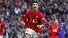 Ronaldo ai tempi del Manchester United. Getty