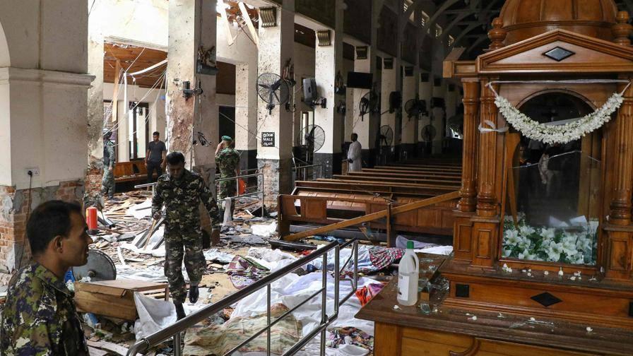 Sri Lanka, Pasqua di sangue Otto esplosioni: 187 morti