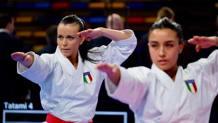 Il team femminile di kata (Pezzetti, Casale, D'Onofrio) vince la Premier League di Rabat